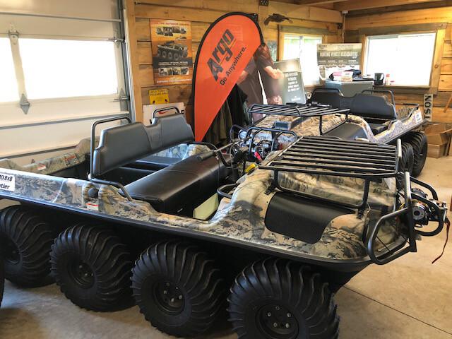 2018 Argo Frontier Scout 8x8