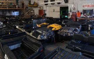 Room full of Argo XTVs